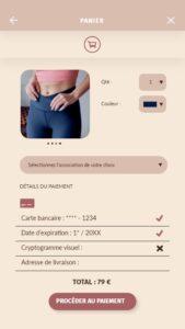 Prototype application web design