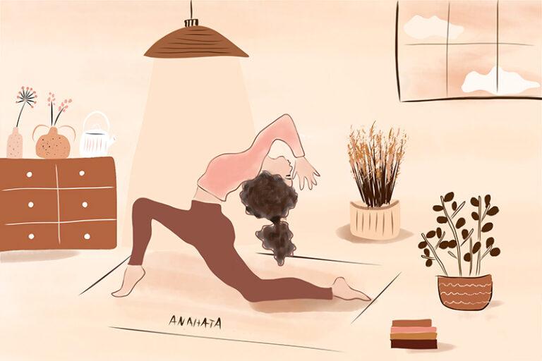 Illustration Magali Boyer - Yoga
