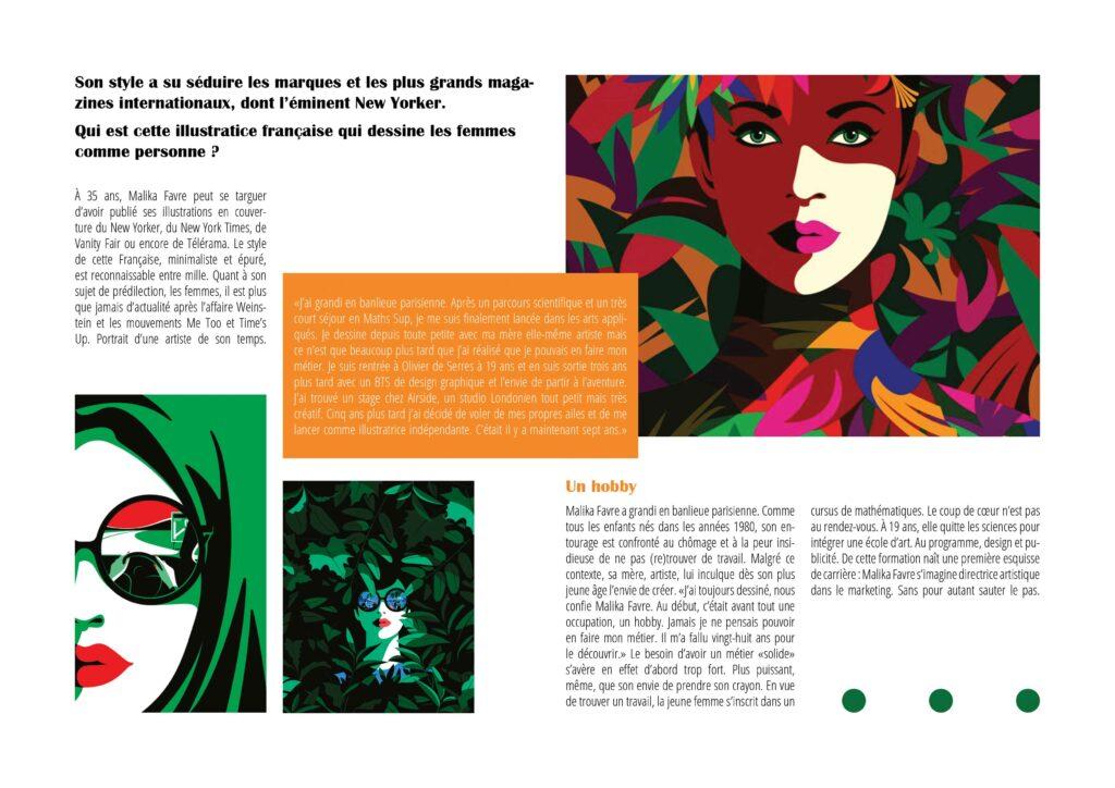 Design editorial - Magali Boyer - Magazine